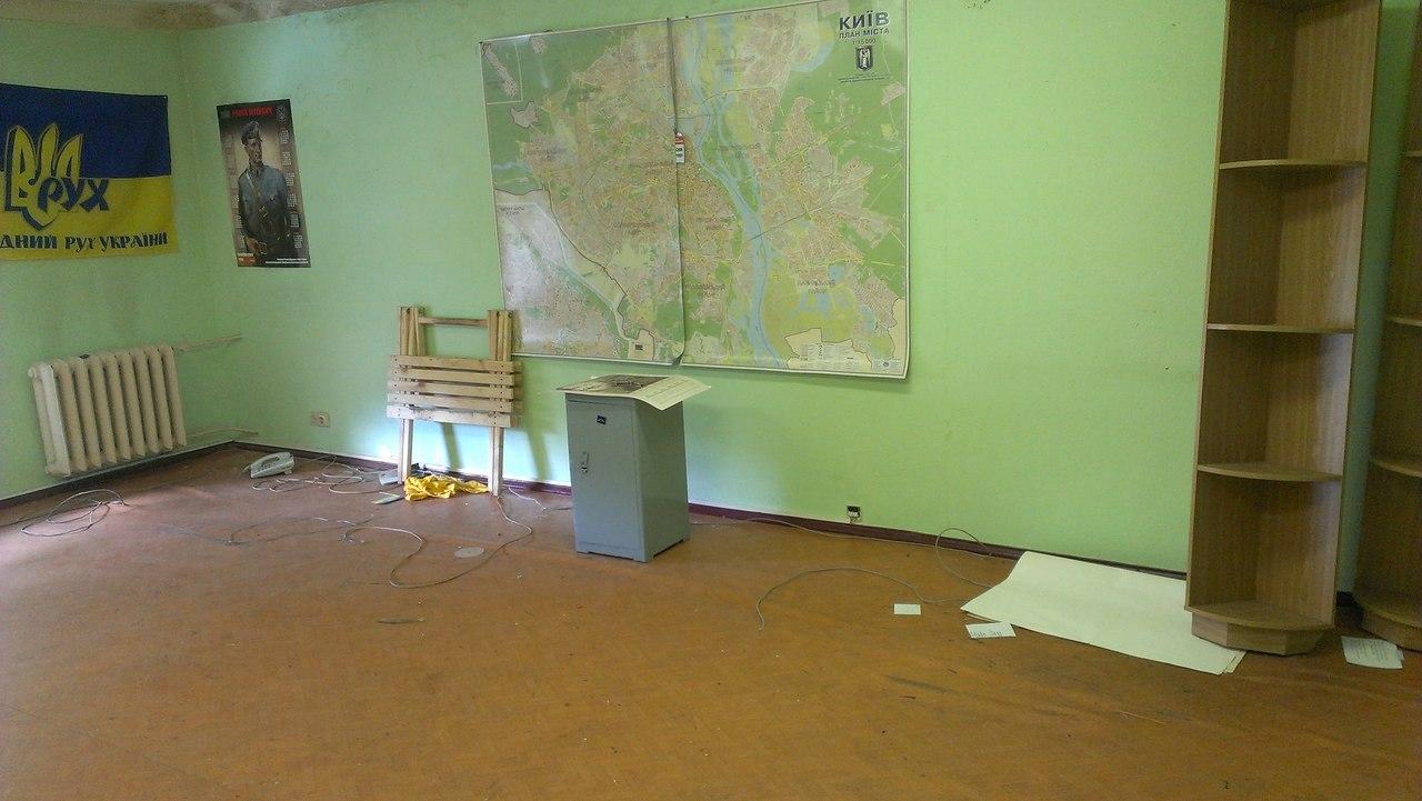 МНР звільнив офіс НРУ на Олеся Гончара