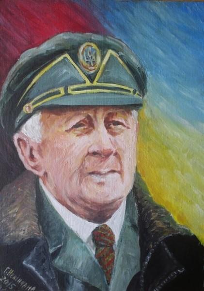 Портрет Теодора Дячуна, написаний Галиною Невінчаною
