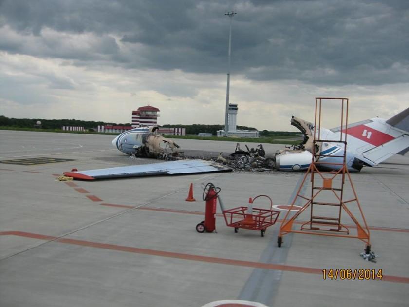 """""""Скелет"""" літака у ДАПі"""