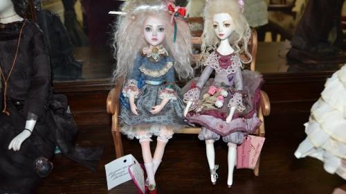 В гостях у казки. Арт-готель «Династія» запрошує на виставку ляльок