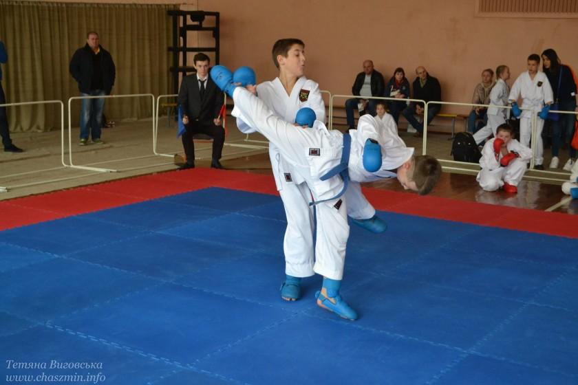 250 спортсменів змагалося на першість клубу карате «Дайтан»