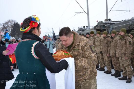 Урочиста зустріч 1-го батальйону 72-ї бригади