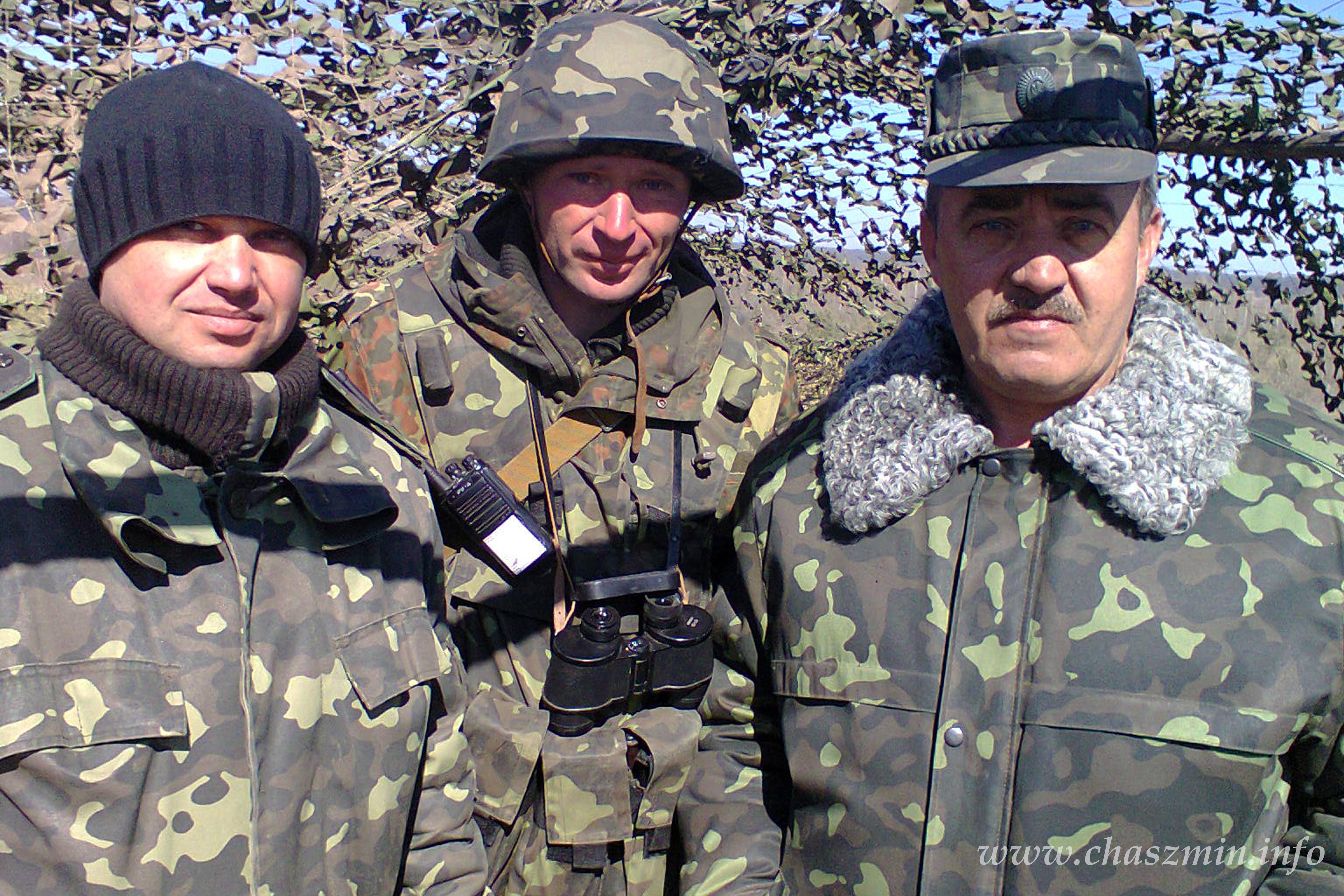 З ліва направо: Сергій Лисенко, Михайло Драпатий та Андрій Грищенко