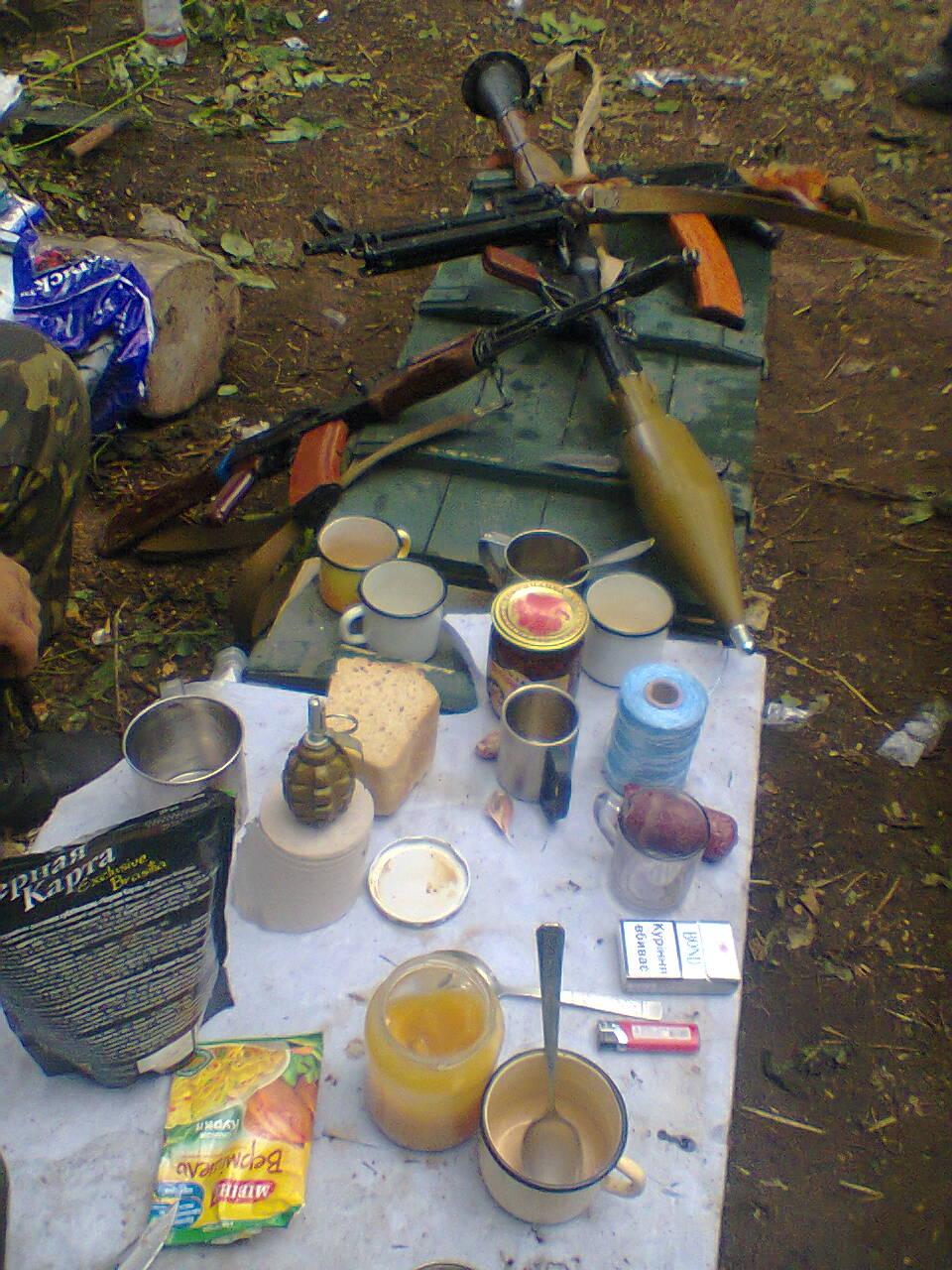 Обід між воєнними діями